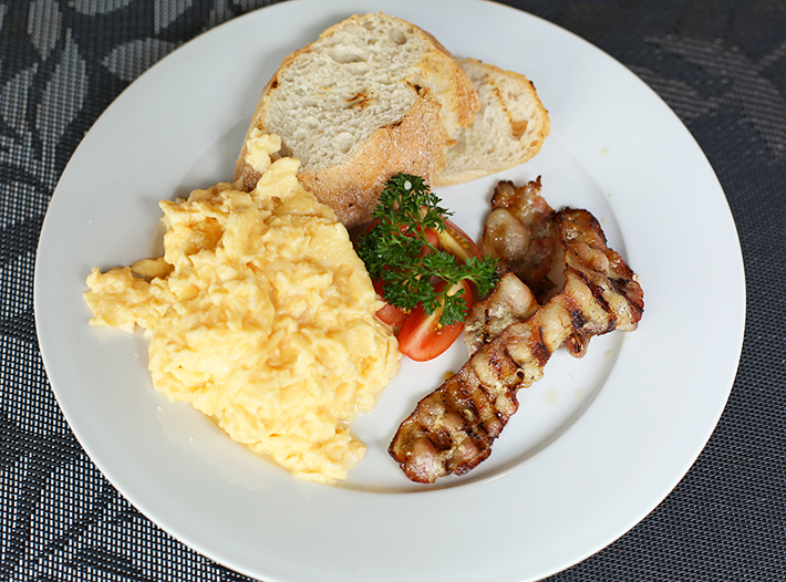 73@Hillcrest Scrambled Eggs and Bacon