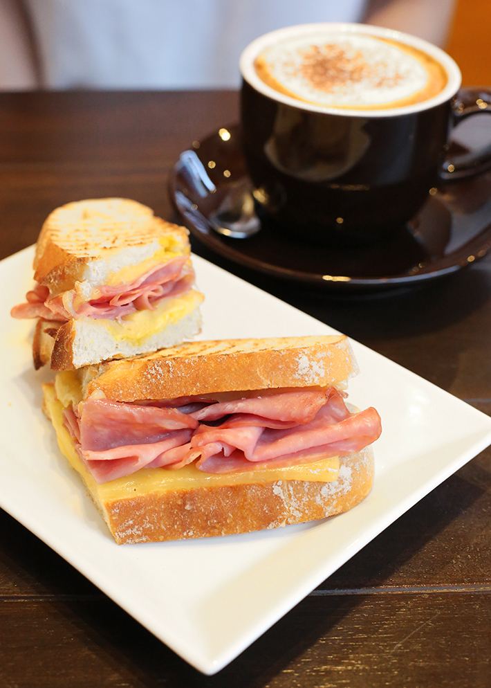 Boyle's Coffee Ham and Cheese