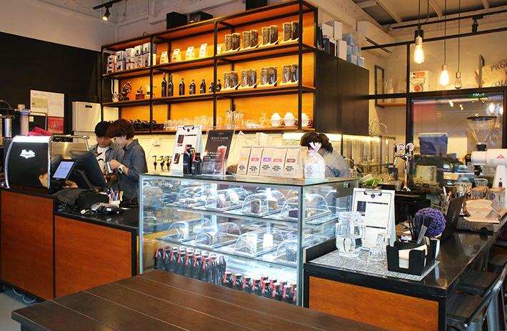 Boyle's Coffee Interior