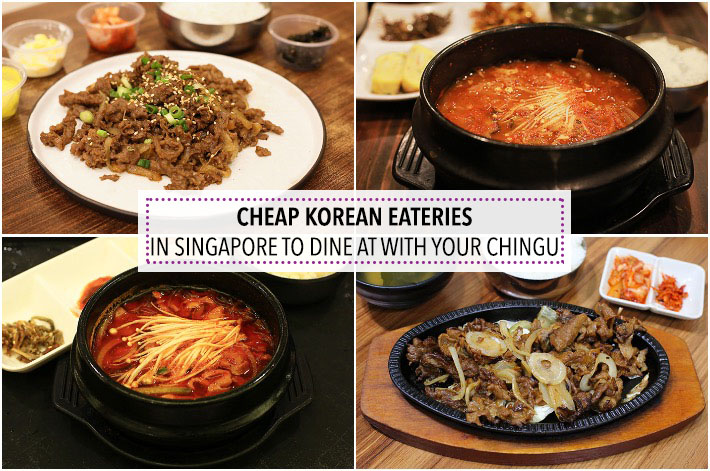 Cheap Korean Eateries Singapore