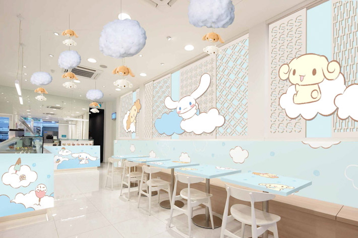 Cinnamoroll Popup Cafe Singapore