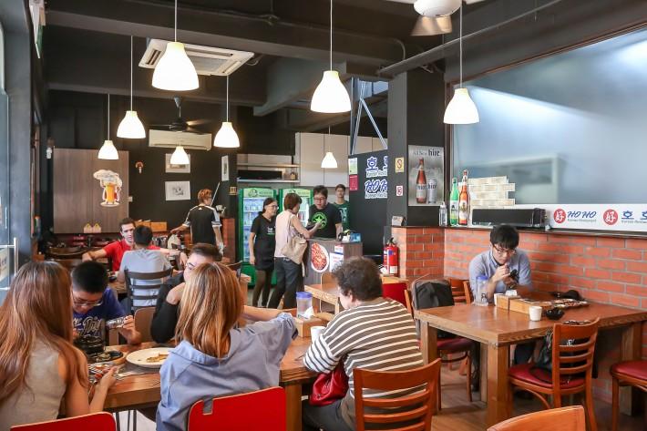 Hoho Korean Restaurant Interior