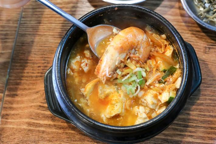 Hoho Korean Restaurant Spicy Seafood Tofu Soup