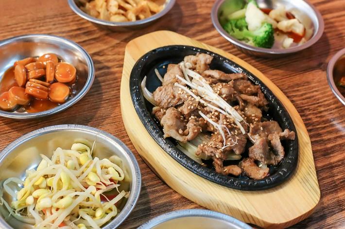 Hoho Korean Restaurant Stir Fry Pork