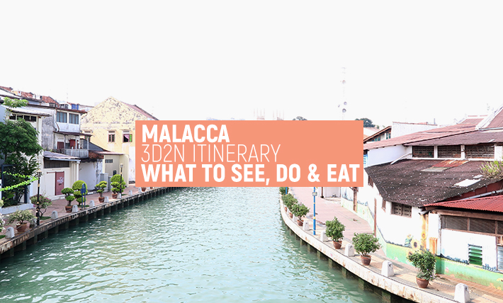 Malacca 3D2N Itinerary