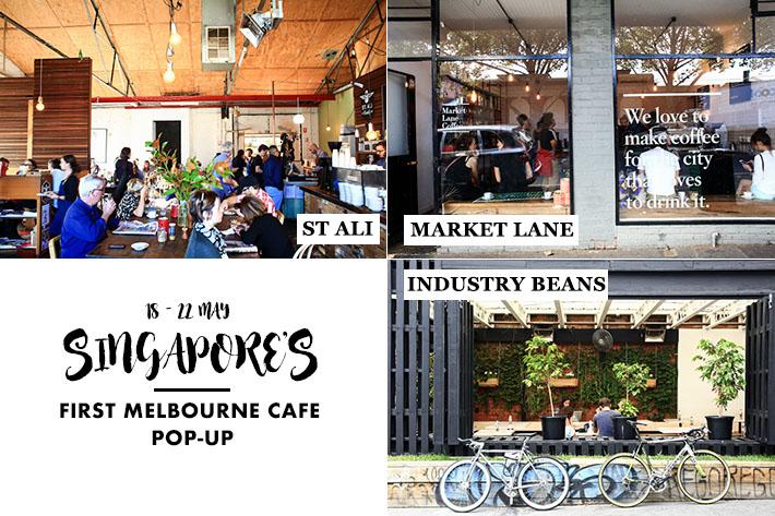 Singapore Melbourne Cafe Popup