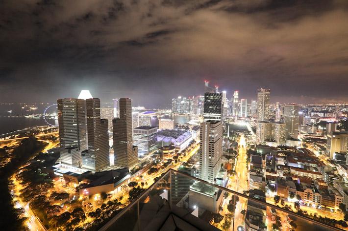 Singapore Skyline Mr Stork
