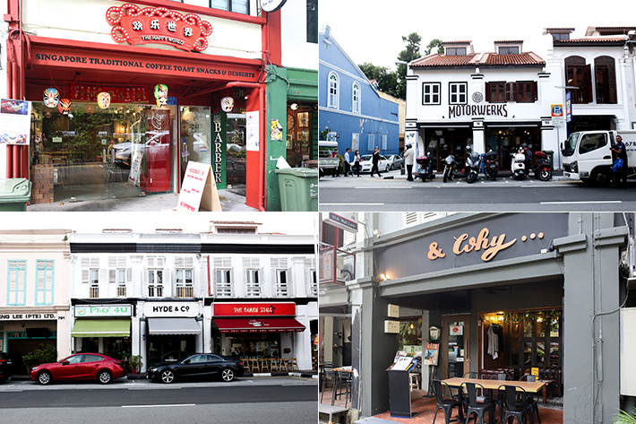 Cafes at Haji Lane & Arab Street
