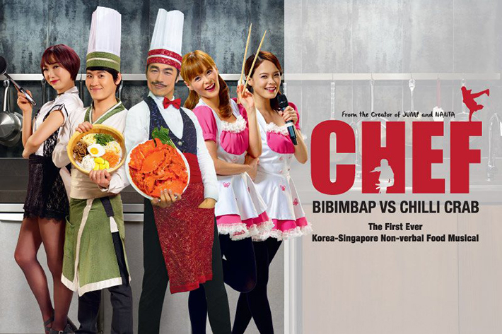 Chef Bibimbap vs Chilli Crab