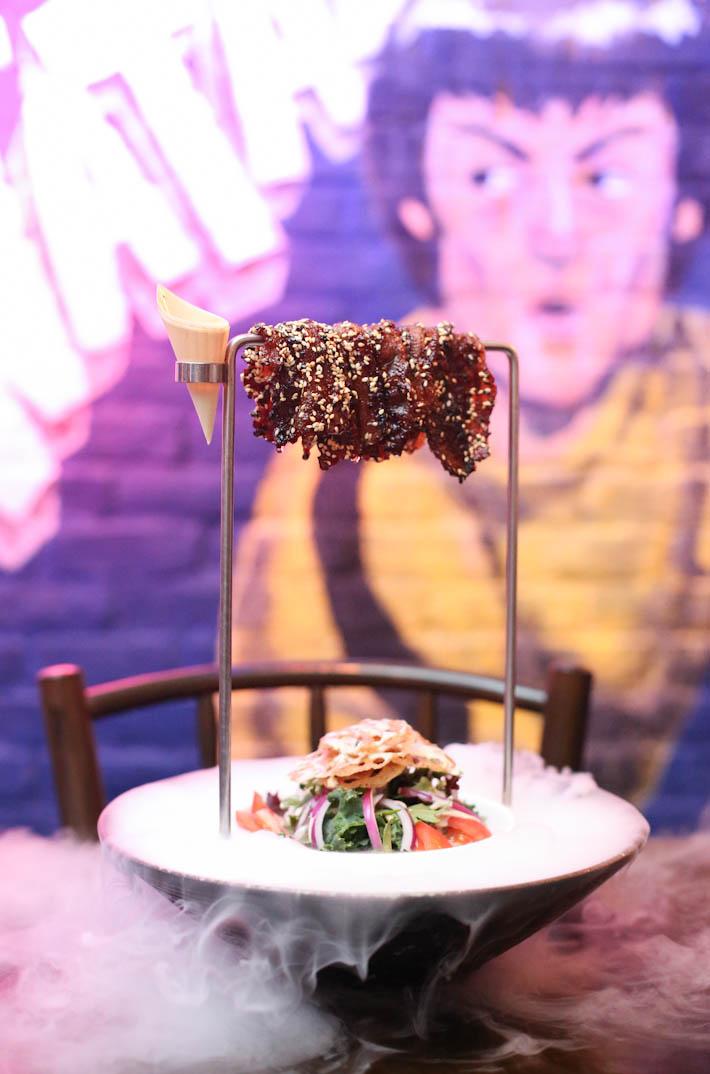 Dragon Chamber Bak Kwa Salad