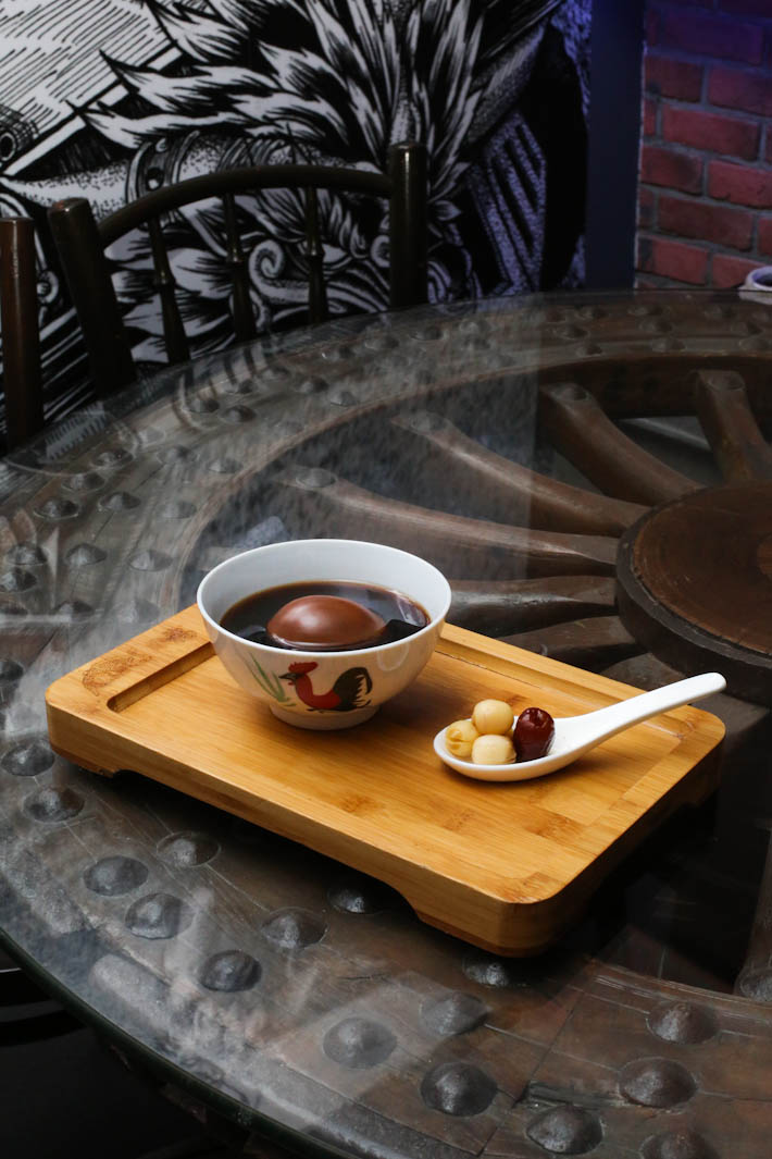 Dragon Chamber Mulberry Egg Tea