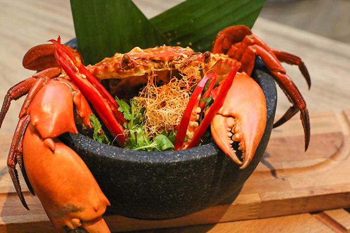 Ginger Asian Kitchen Chilli Crab