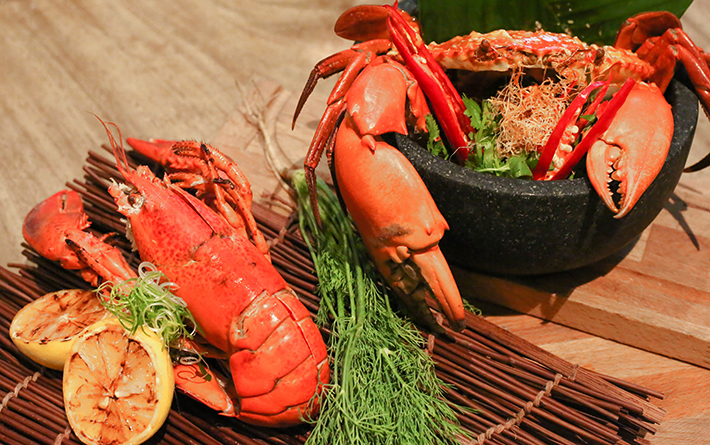Ginger Asian Kitchen Lobster and Crab