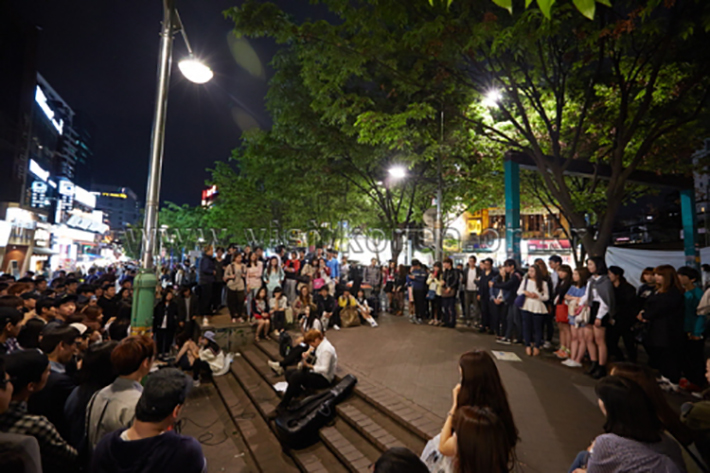 INDIE MUSIC AT HONGDAE