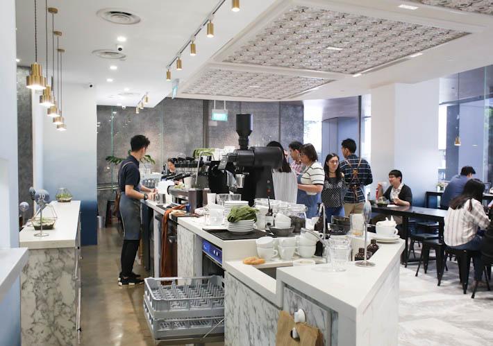 Lunar Coffee Brewers Interior
