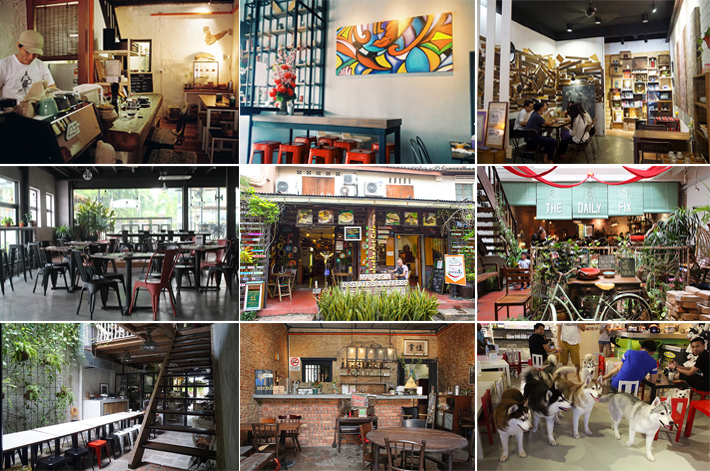 Malacca Cafes Guide