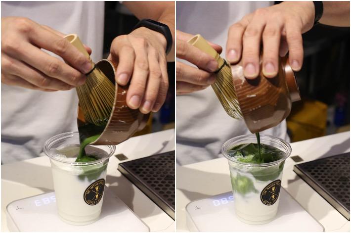 Matcha Project Genmaicha Latte