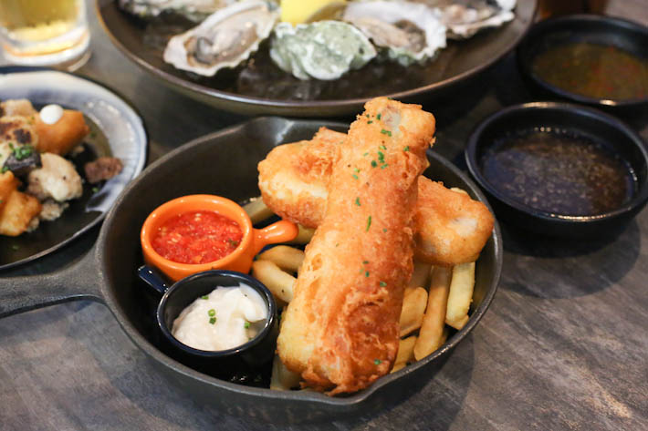 Oyster Co Fish And Chips