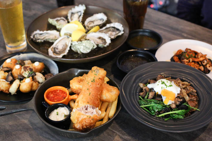 Oyster Co Food