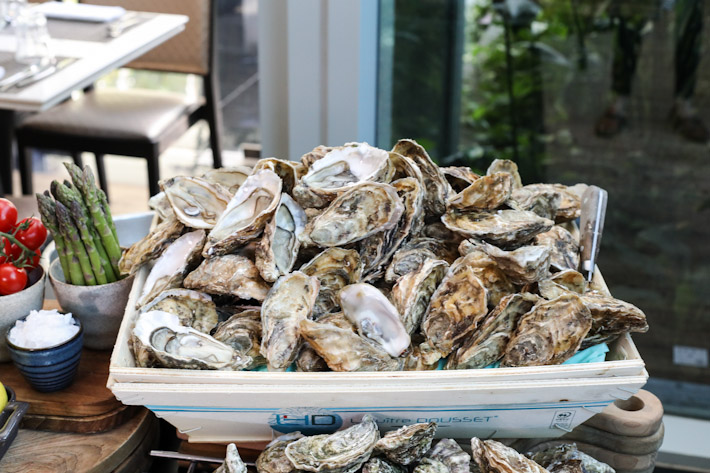 Pan Pacific Orchard Oyster Buffet