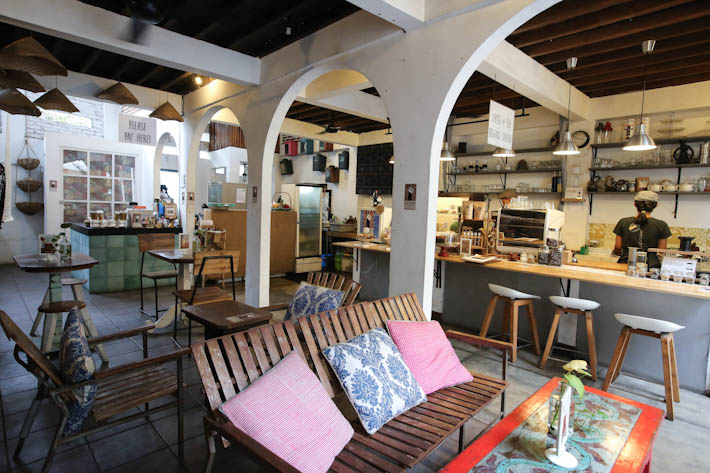 The Koop Roaster Interior