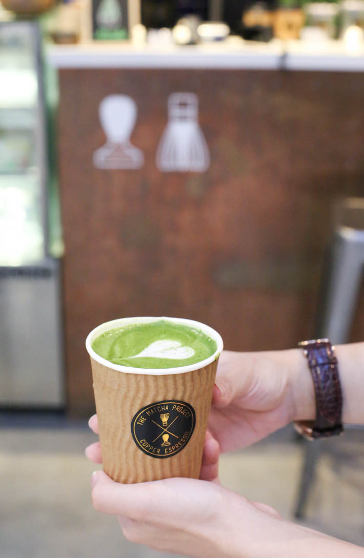 The Matcha Project Matcha Latte