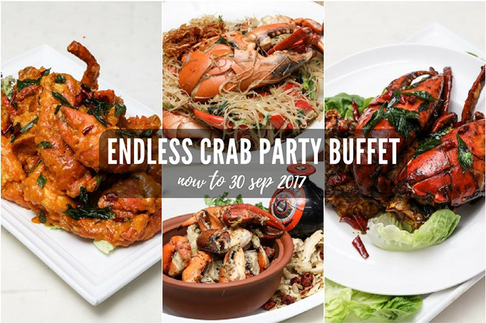 Endless Crabs Party Buffet