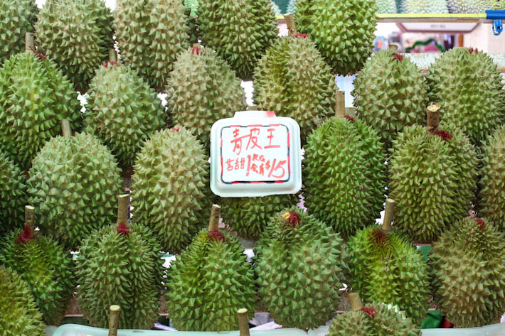 Green Skin Durians