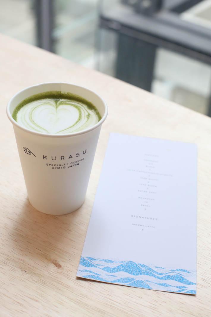 Kurasu Matcha Latte