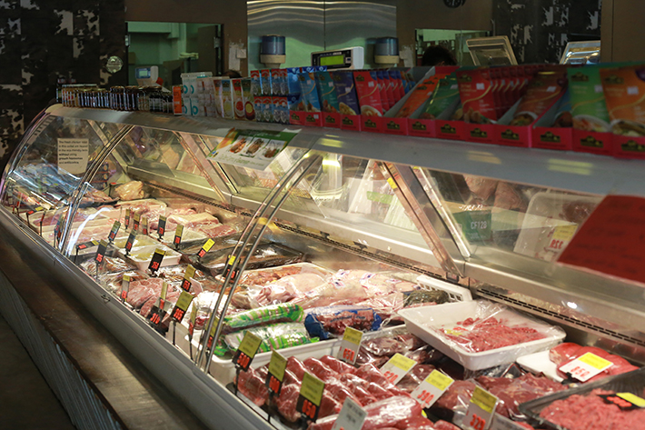 Meat The Grocer Interior