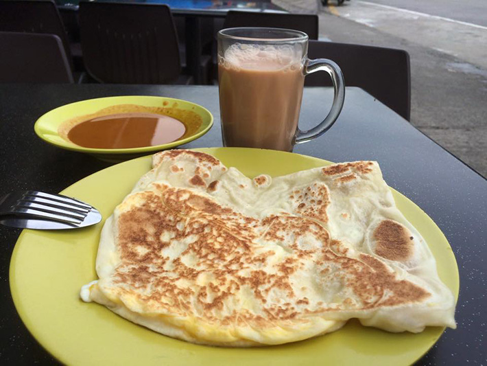 Niqqi's Cheese Prata
