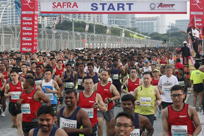 SAFRA Singapore Bay Run