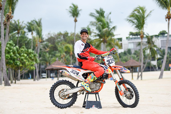 Singapore MX 2017 Beach race