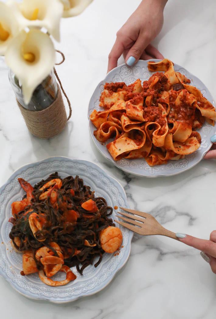 honestbee pasta