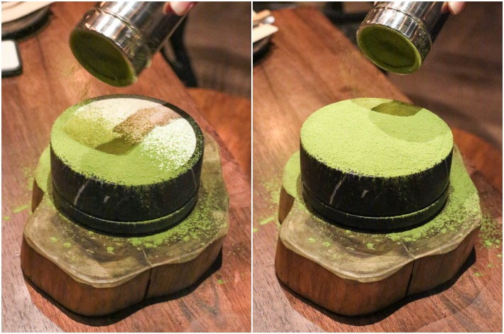Blooming Gallery Matcha Cheesecake