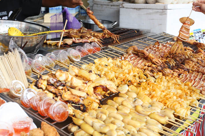 Chatuchak Grilled Food