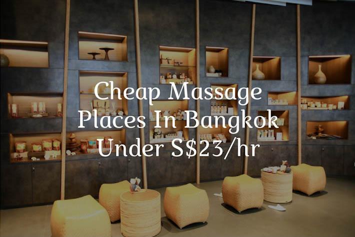 Cheap Massage Bangkok