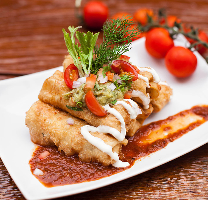 Comida Mexicana Enrollados