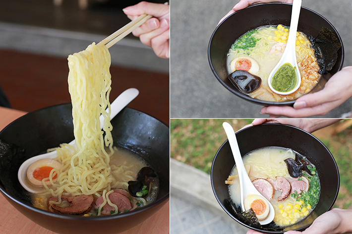 Gonpachi Ramen Collage