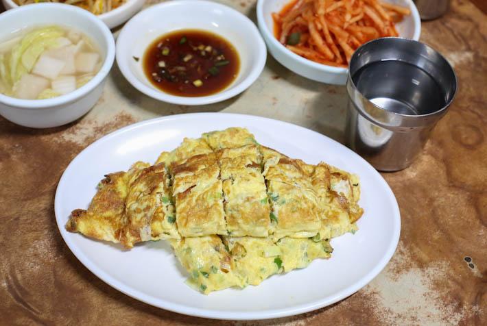 Gwanghwamun House Omelette