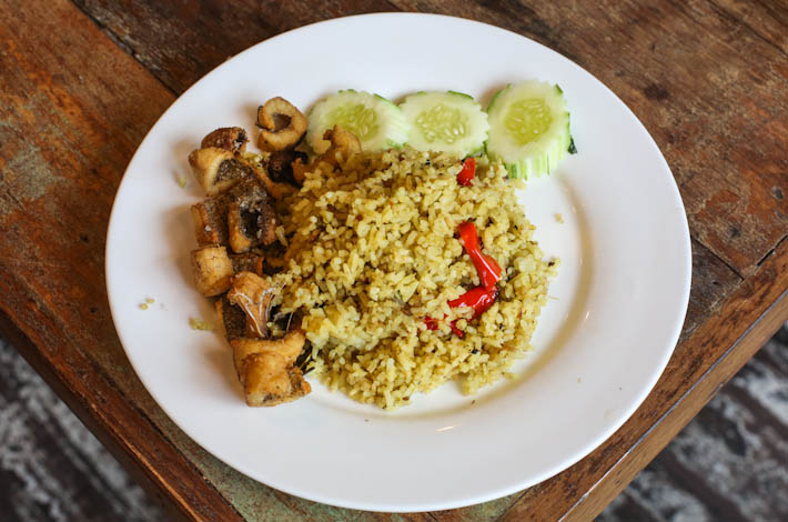 Khao Jao Green Curry Fried Rice