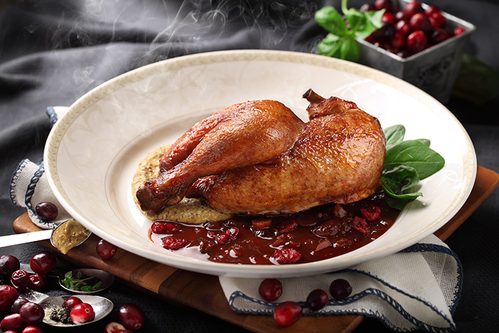 Poulet - Half Chicken Cranberry