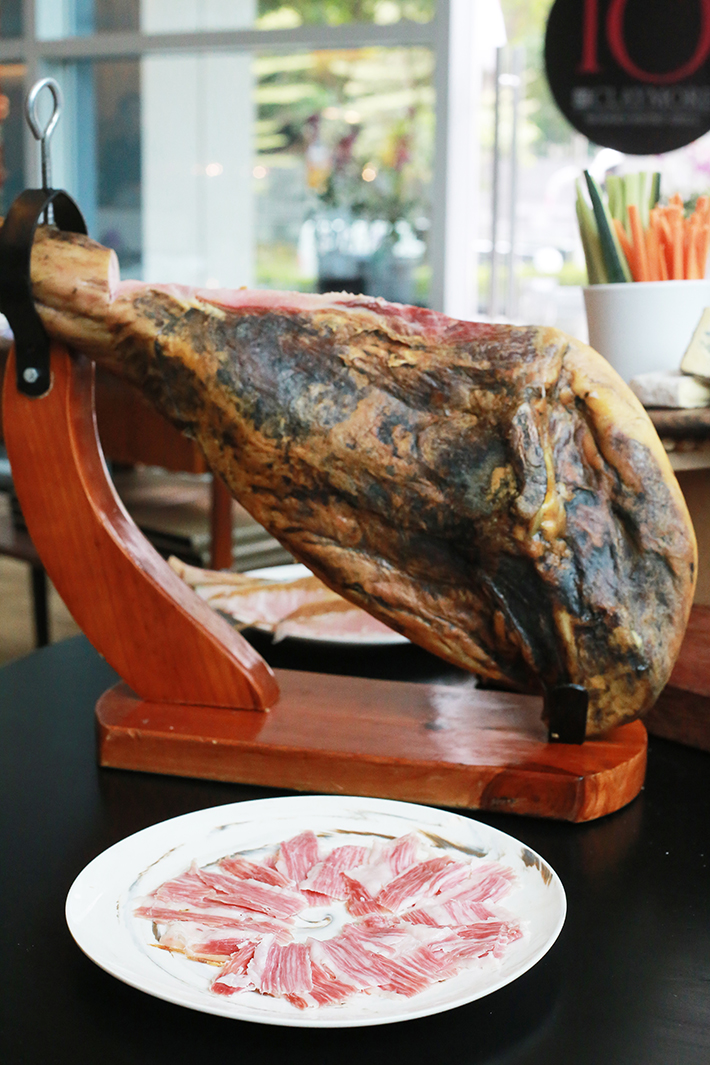 10 at Claymore Jamon Iberico