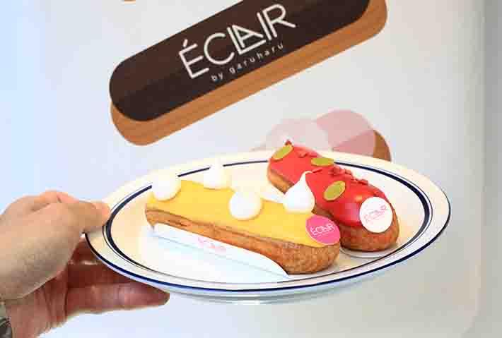 Eclair Pastries