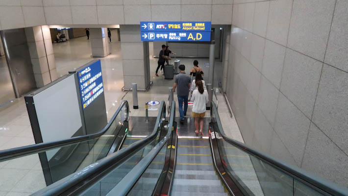 Escalator Airport Railroad