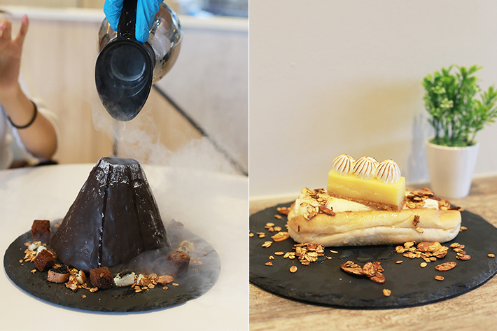 FroRoll Dessert Collage