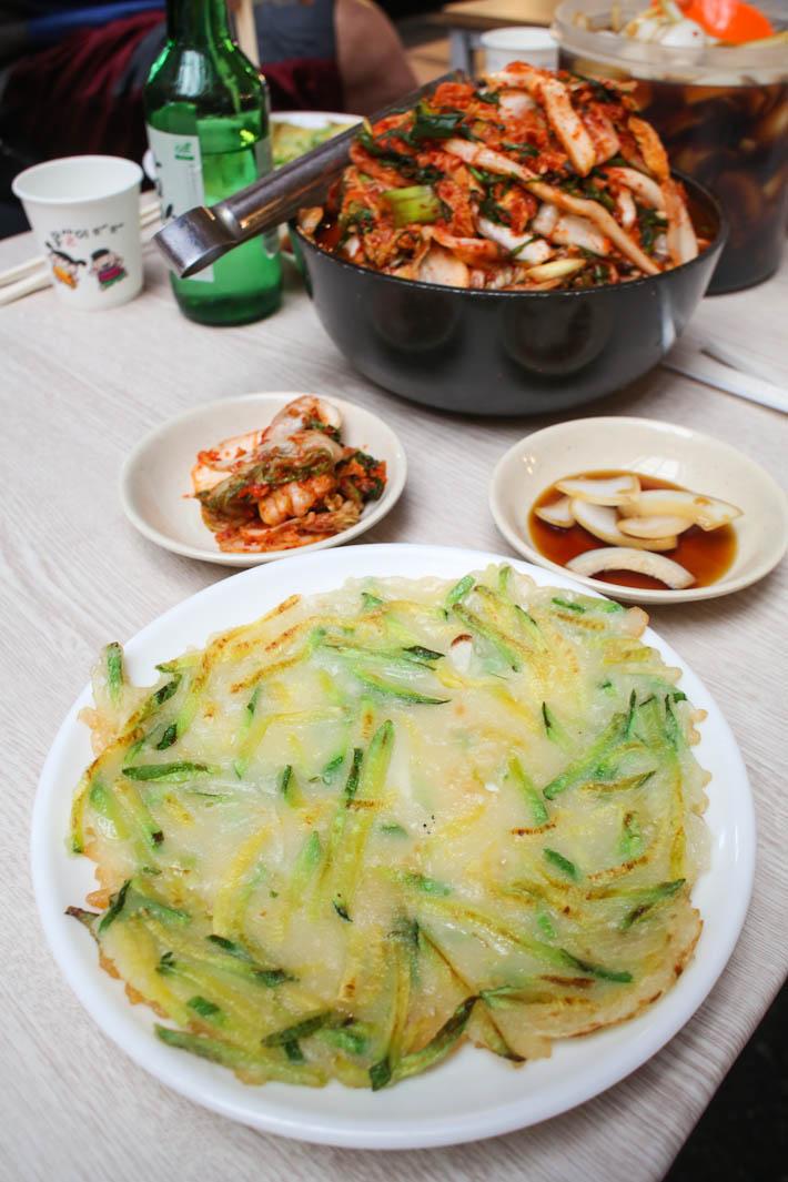 Gwangjang Market Korean Pancake