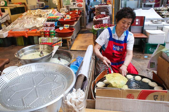 Gwangjang Market Korean Pancakes