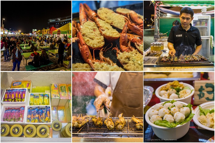 Macau Food Festival Collage