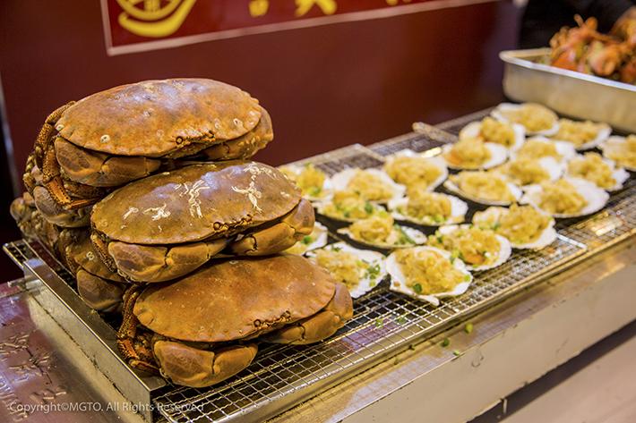 Macau Food Festival Seafood